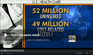 CBS: Maine residents barter for health care.